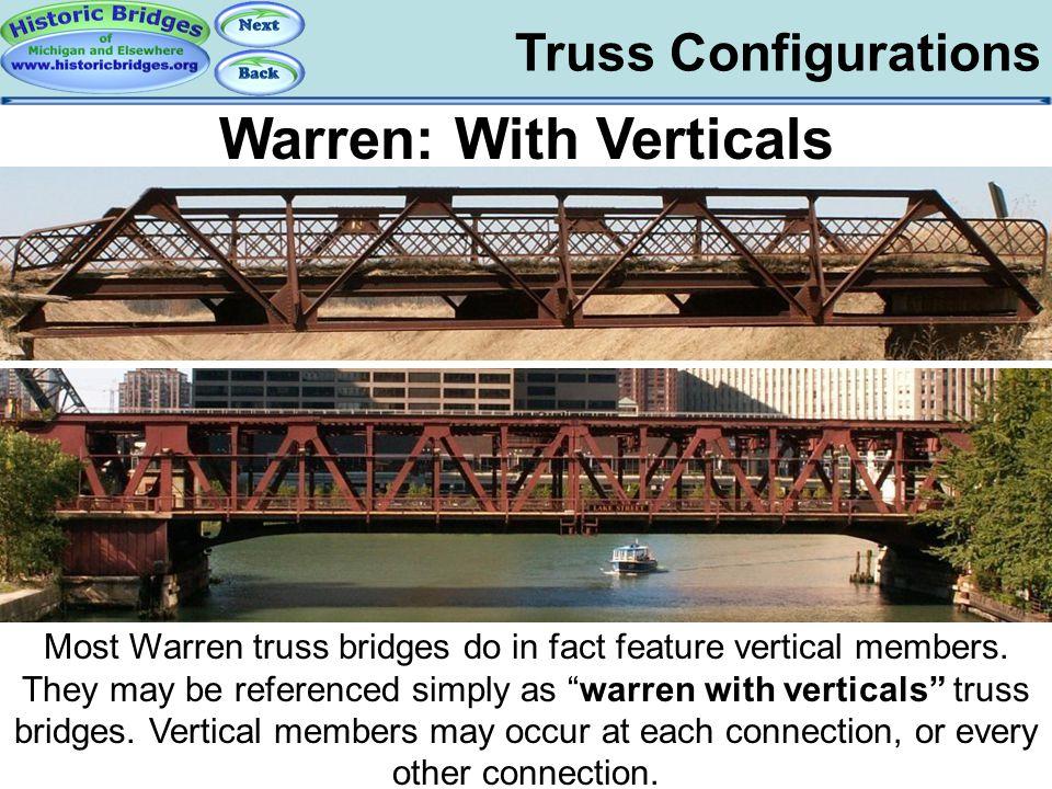 Truss Configs –Warren With Verticals
