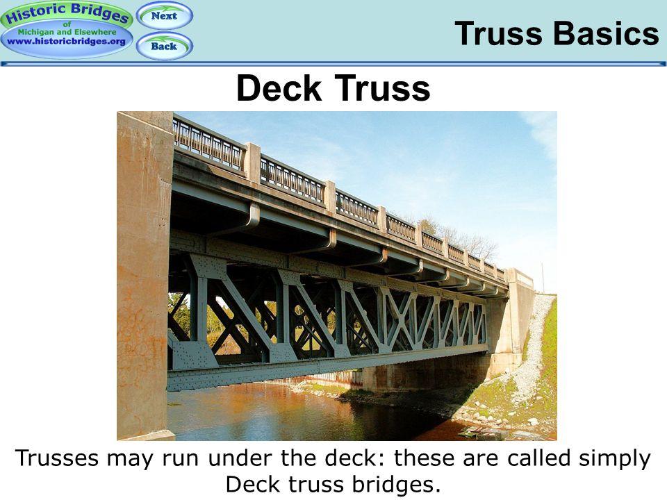 Deck Truss Truss Basics – Deck Truss Basics