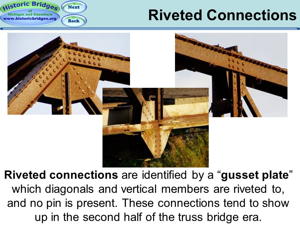 Truss Connections - Riveted