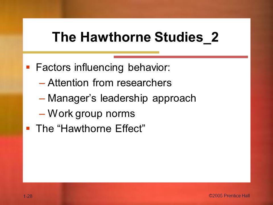 The Hawthorne Studies_2