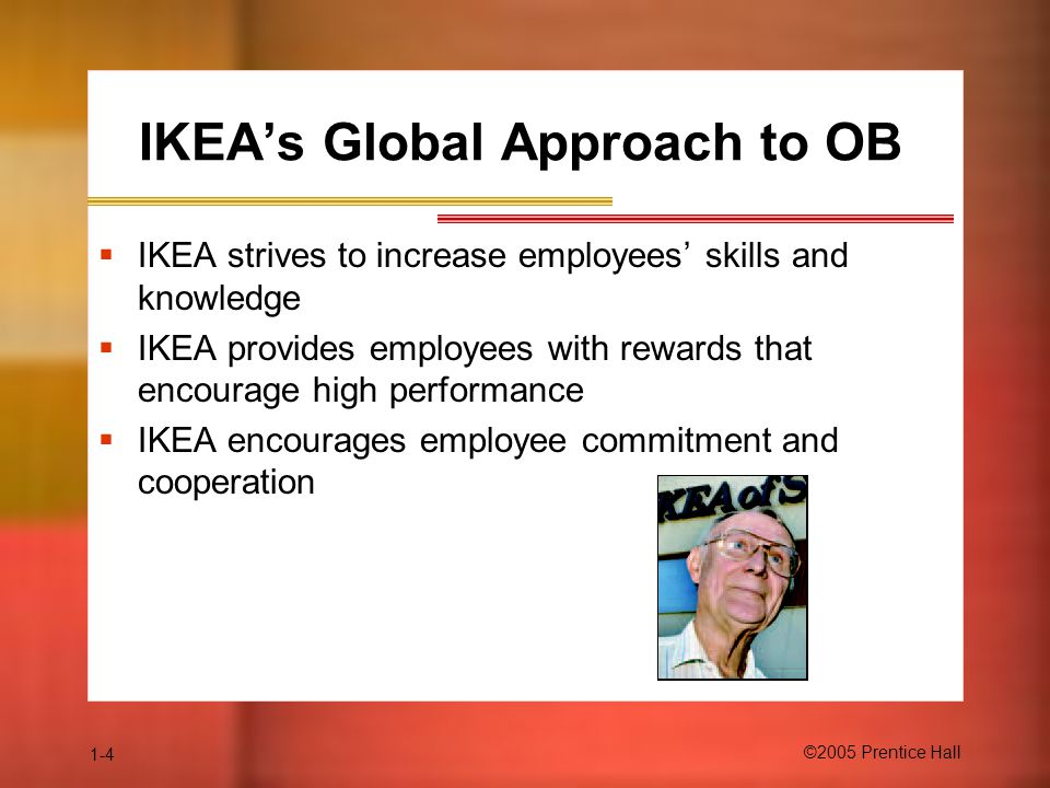 IKEA's Global Approach to OB