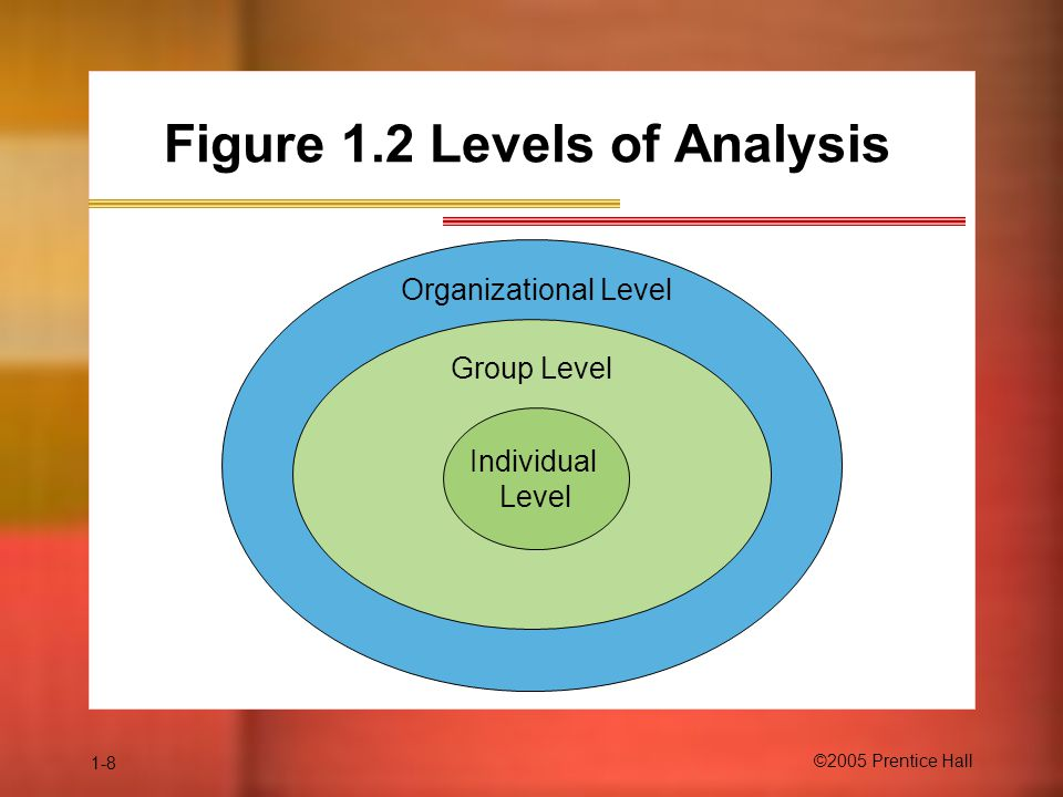 Figure 1.2 Levels of Analysis