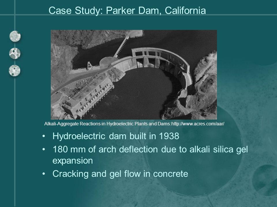 Case Study: Parker Dam, California