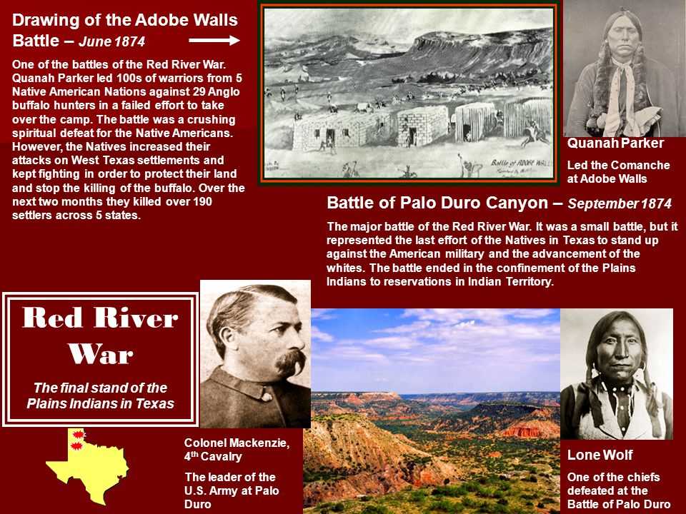The final stand of the Plains Indians in Texas