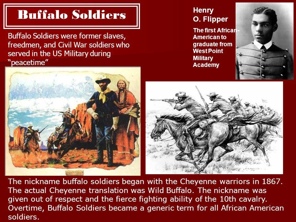 Buffalo Soldiers Henry O. Flipper