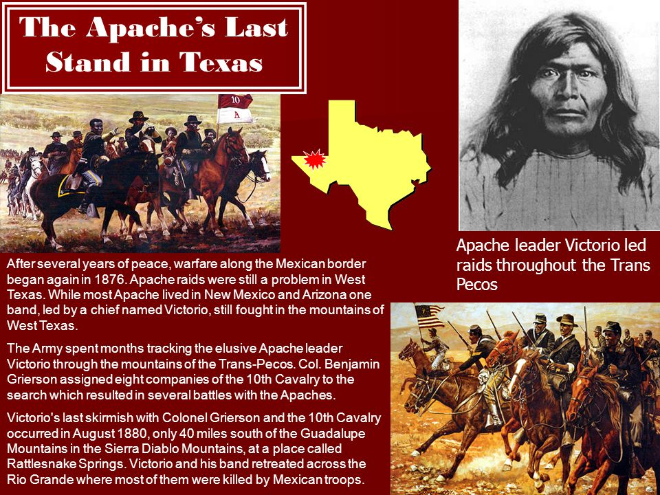 The Apache's Last Stand in Texas
