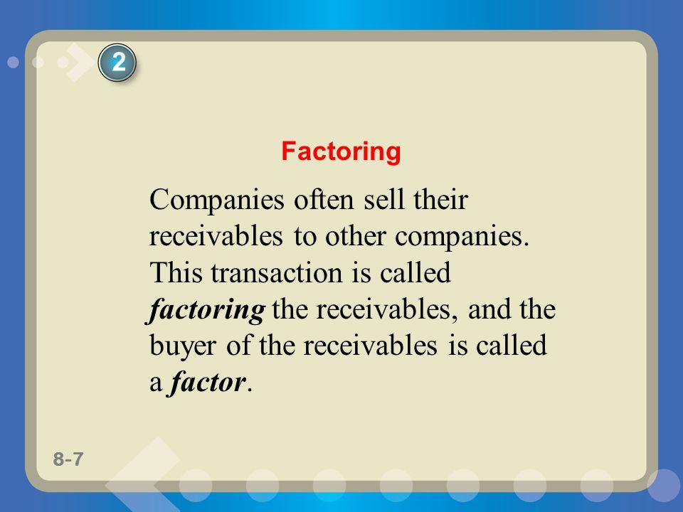 2 Factoring.