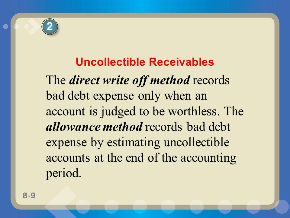 Uncollectible Receivables
