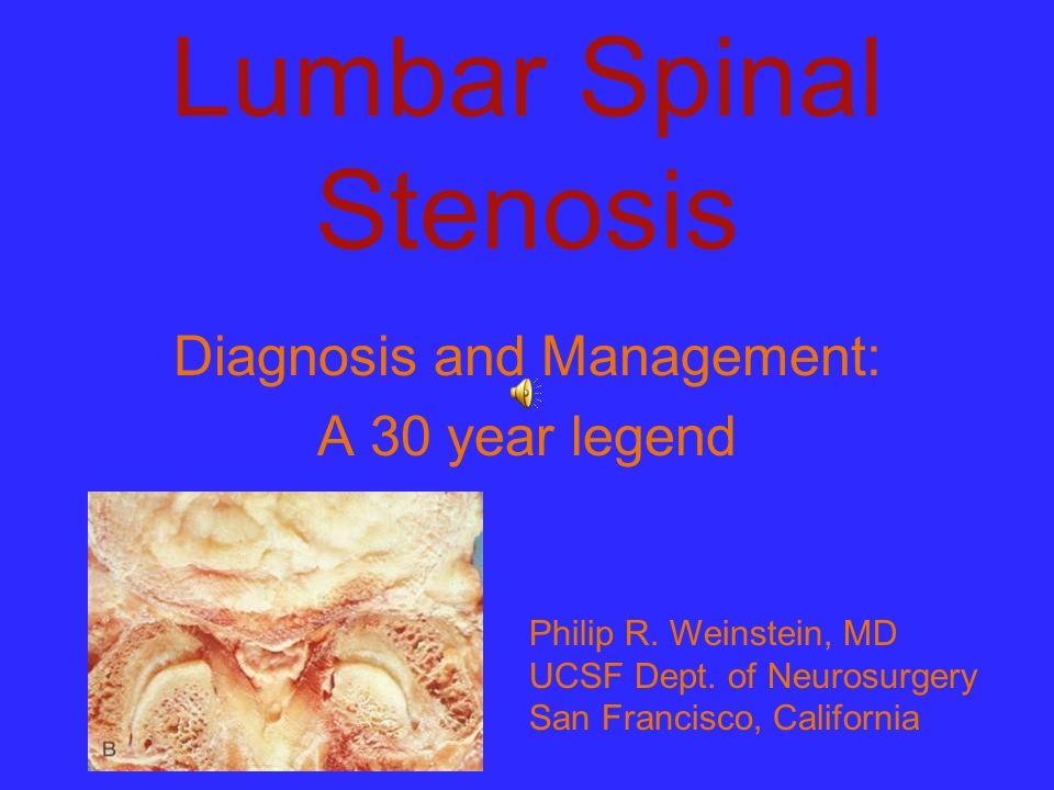 Lumbar Spinal Stenosis