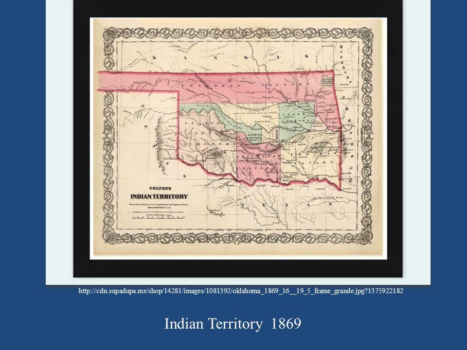 http://cdn.supadupa.me/shop/14281/images/1081392/oklahoma_1869_16__19_5_frame_grande.jpg?1375922182 Indian Territory 1869.