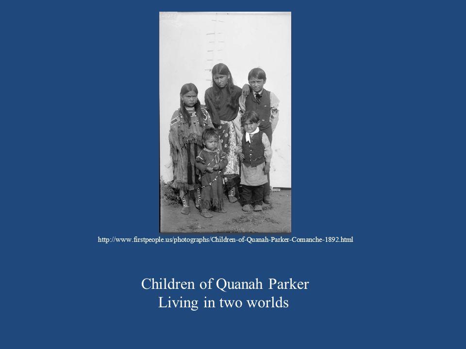 Children of Quanah Parker