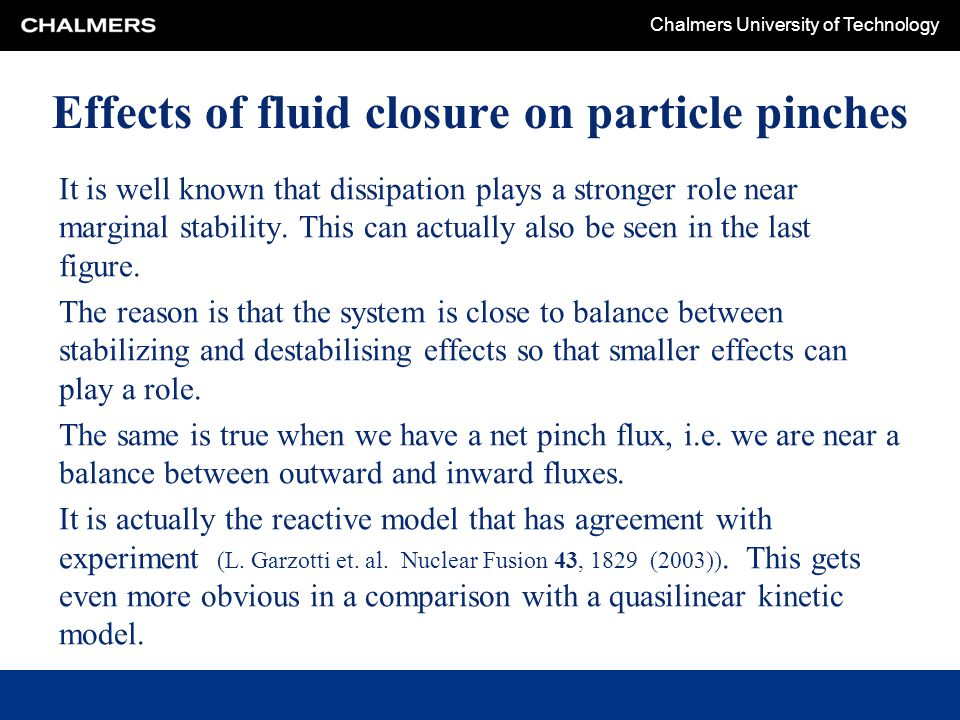 Effects of fluid closure on particle pinches