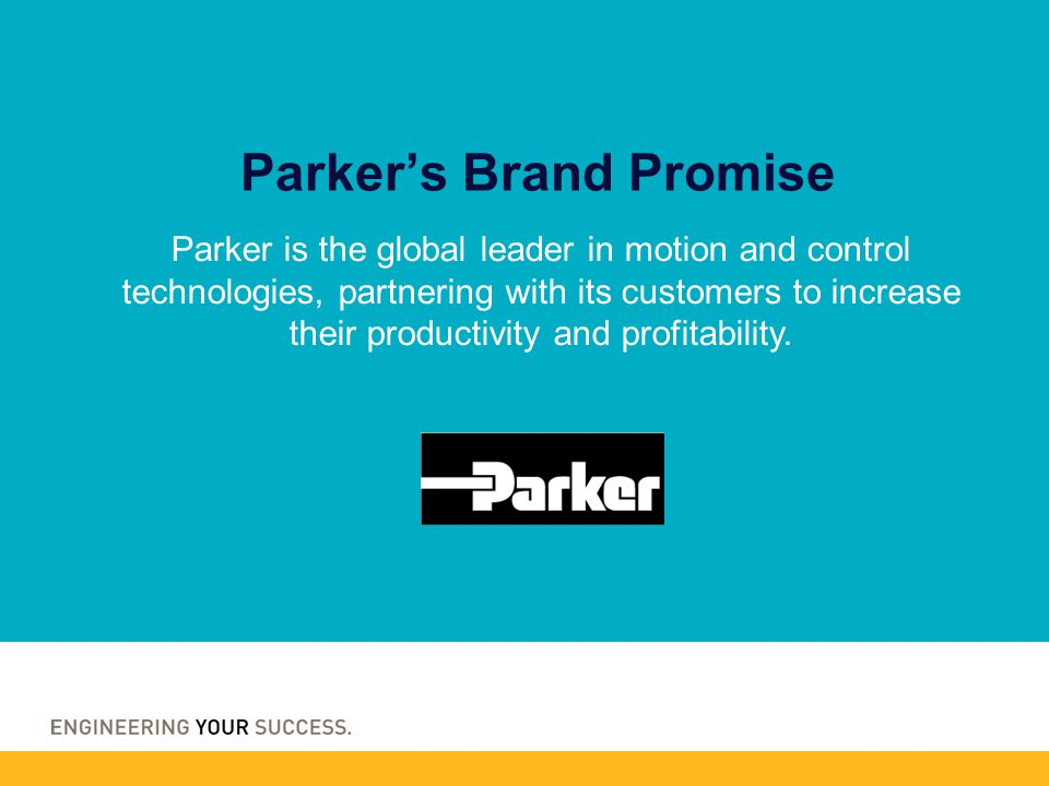 Parker's Brand Promise