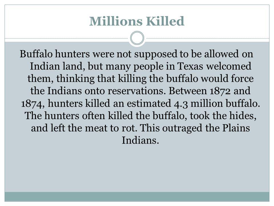 Millions Killed