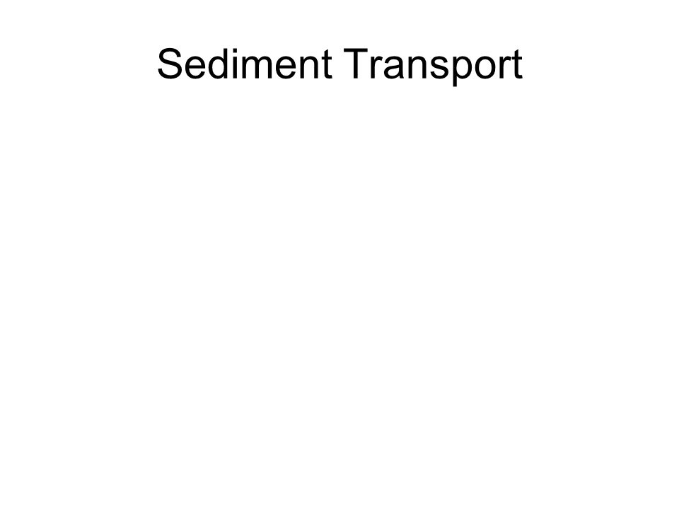 Sediment Transport