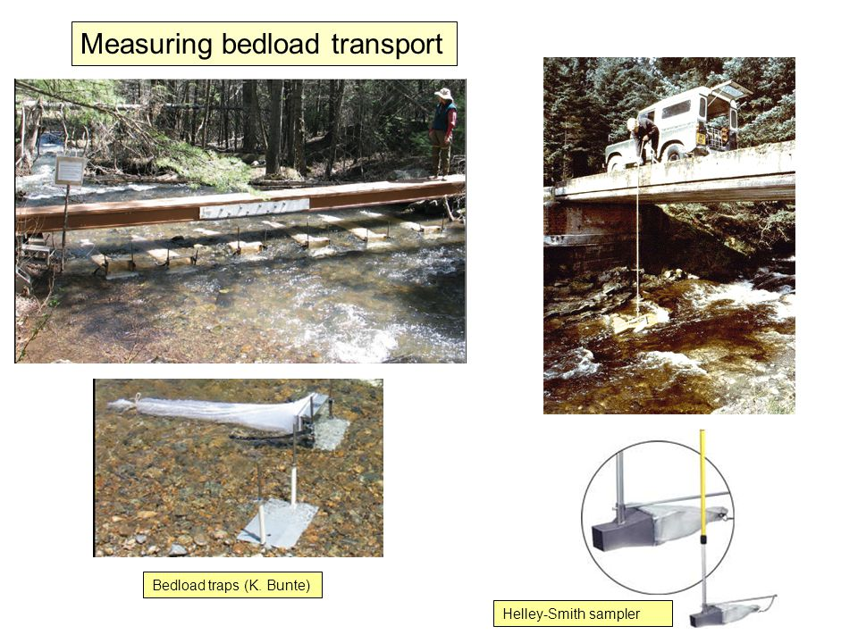 Measuring bedload transport