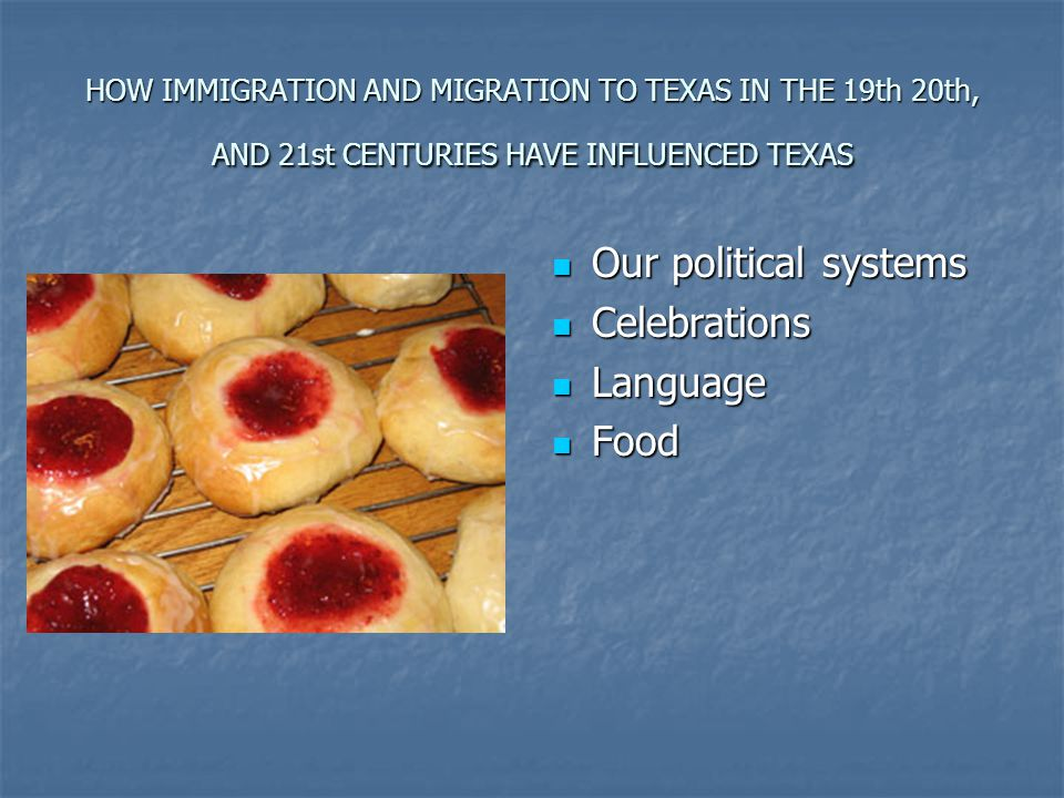 Our political systems Celebrations Language Food
