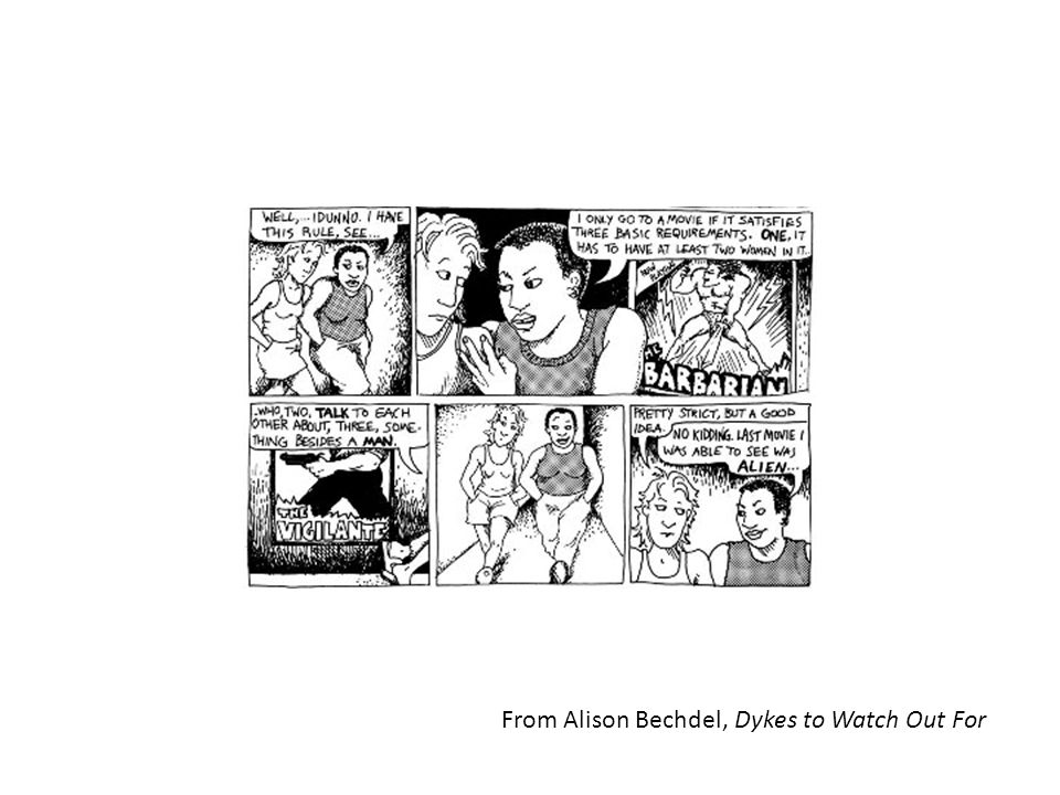 From Alison Bechdel, Dykes to Watch Out For