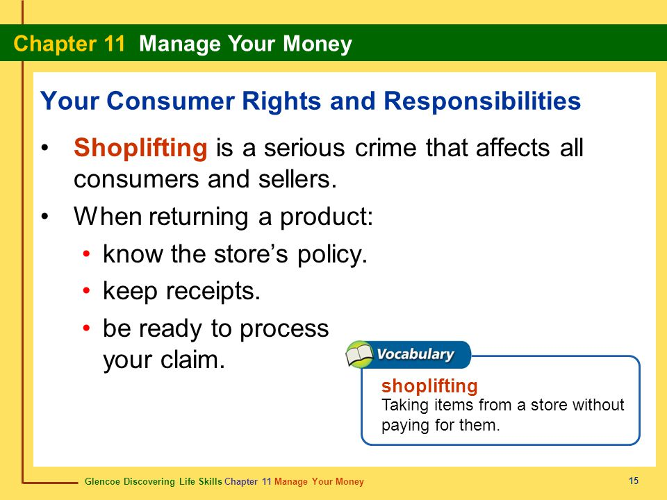 Your Consumer Rights and Responsibilities