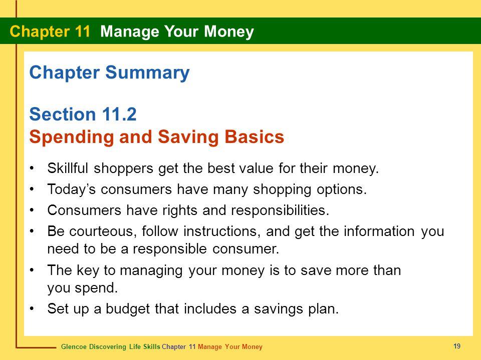 Spending and Saving Basics