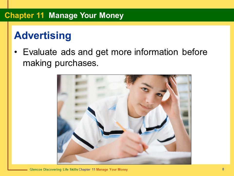 Advertising Evaluate ads and get more information before making purchases.