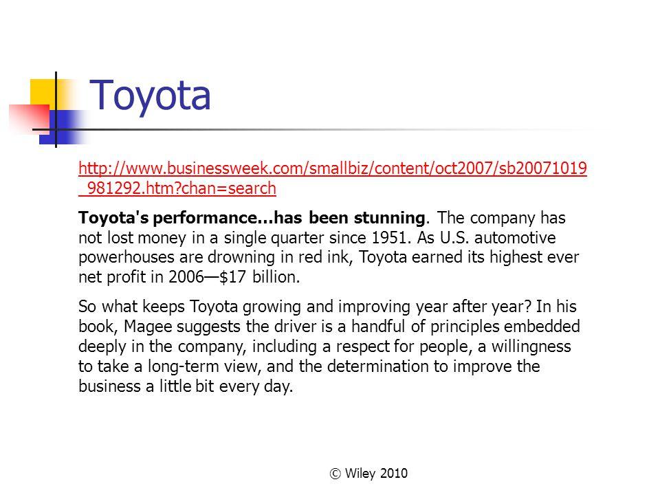 Toyota http://www.businessweek.com/smallbiz/content/oct2007/sb20071019_981292.htm chan=search.