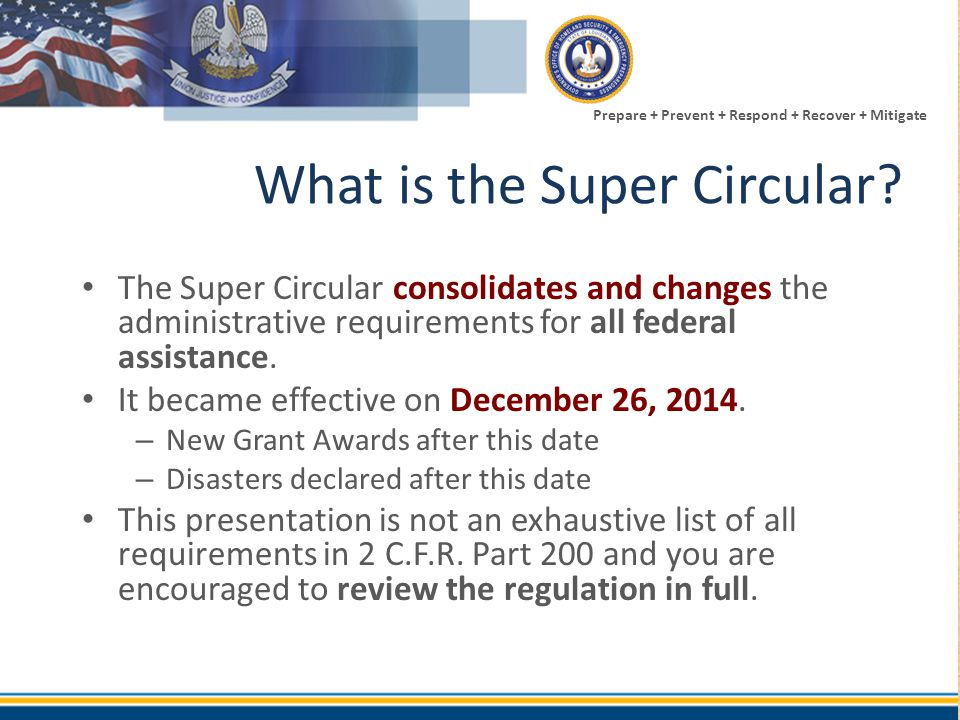 What is the Super Circular