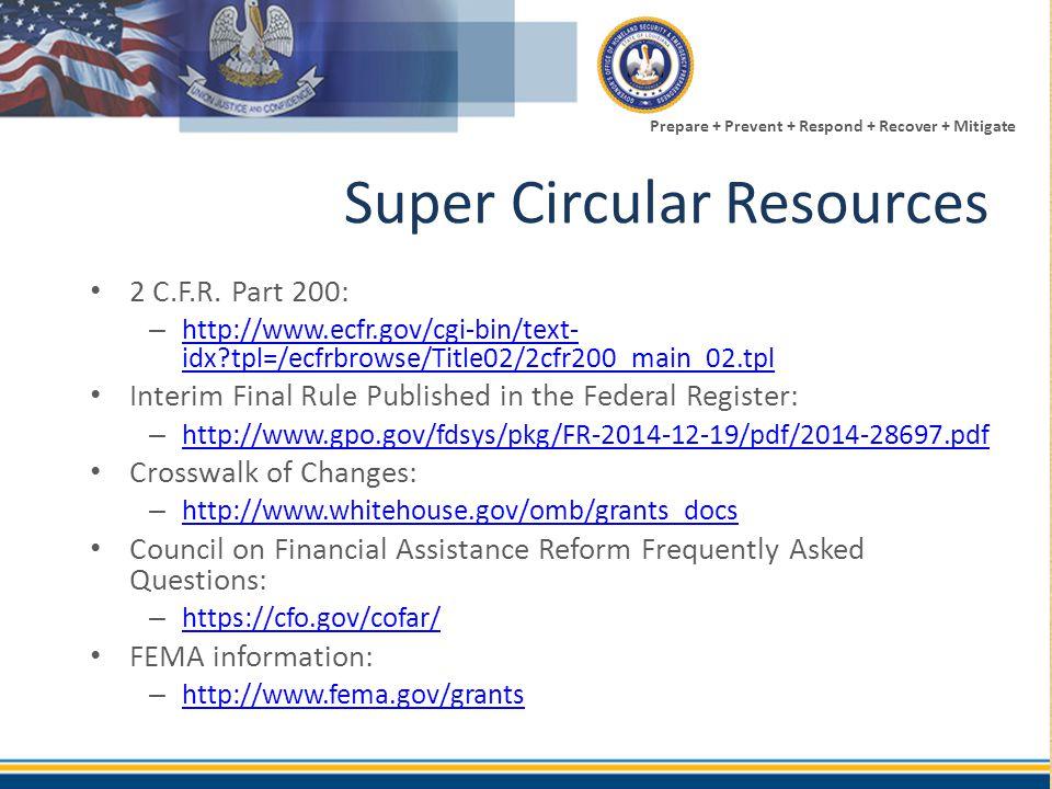 Super Circular Resources