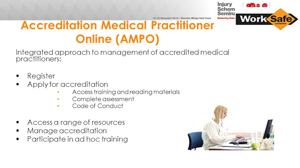 Accreditation Medical Practitioner Online (AMPO)