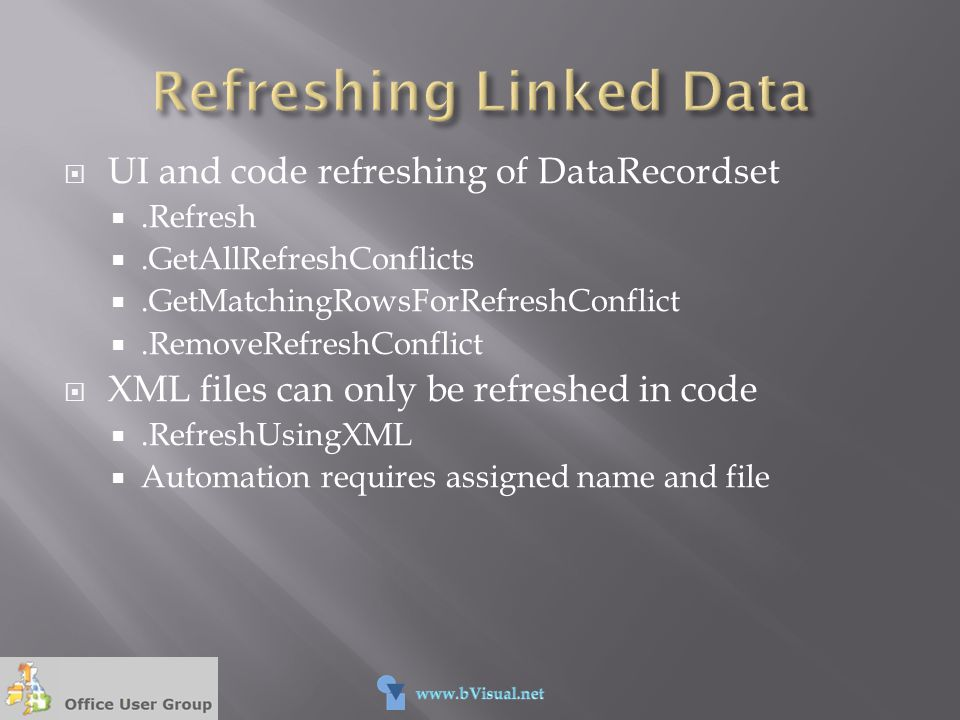 Refreshing Linked Data