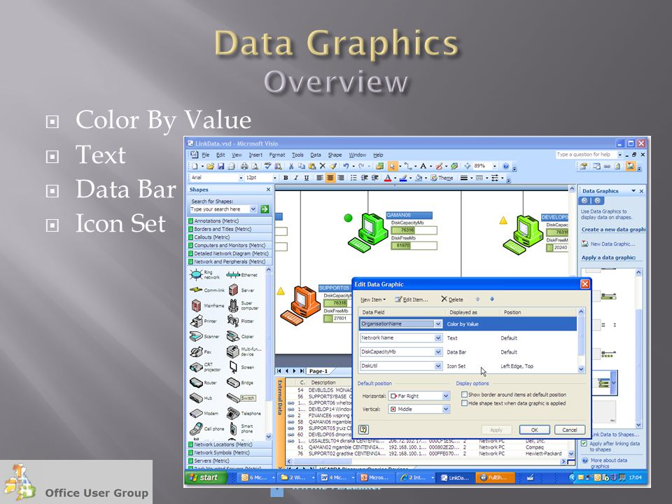 Data Graphics Overview