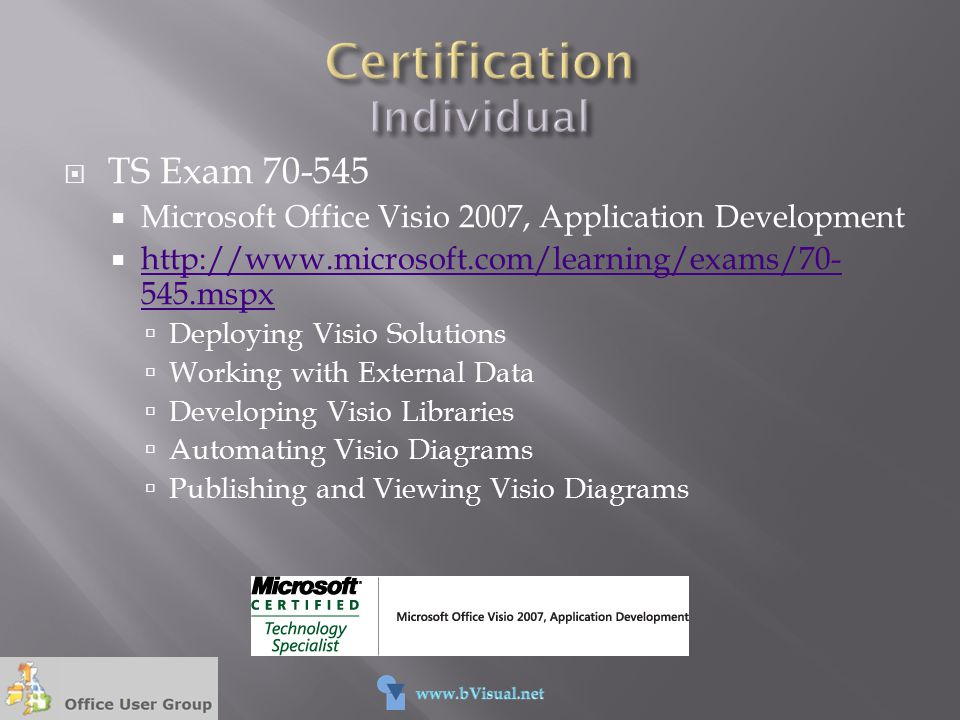 Certification Individual