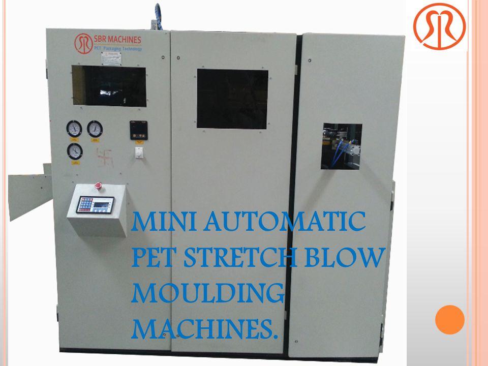 MINI AUTOMATIC PET STRETCH BLOW MOULDING MACHINES.