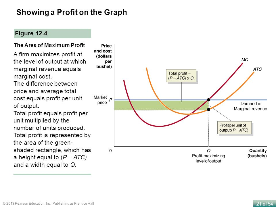 Showing a Profit on the Graph
