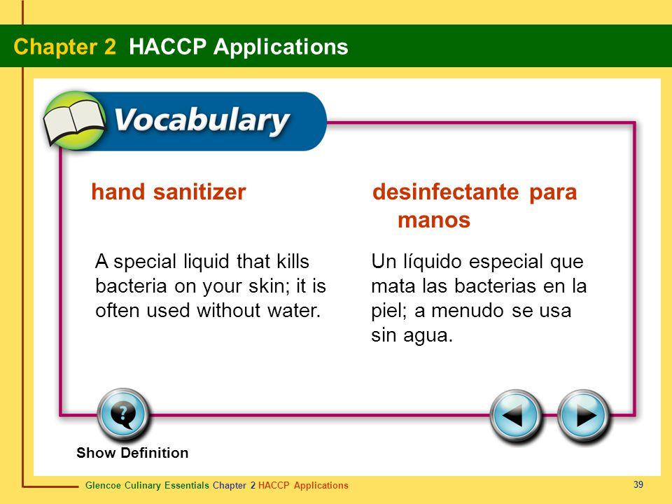 hand sanitizer desinfectante para manos