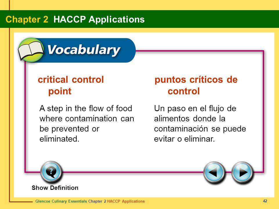 critical control puntos críticos de point control