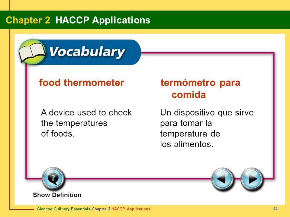 food thermometer termómetro para comida