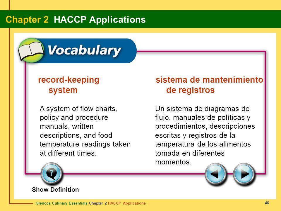 record-keeping sistema de mantenimiento system de registros