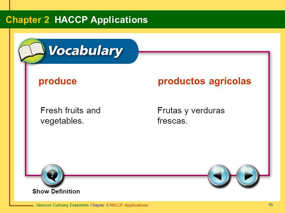 produce productos agrícolas
