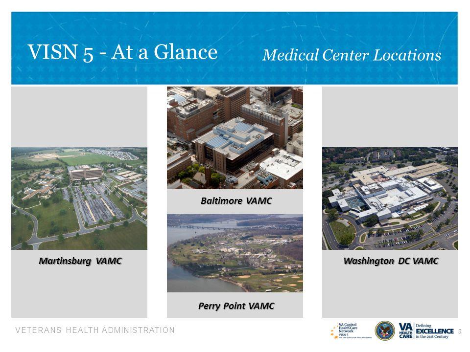 VISN 5 - At a Glance Medical Center Locations Martinsburg VAMC