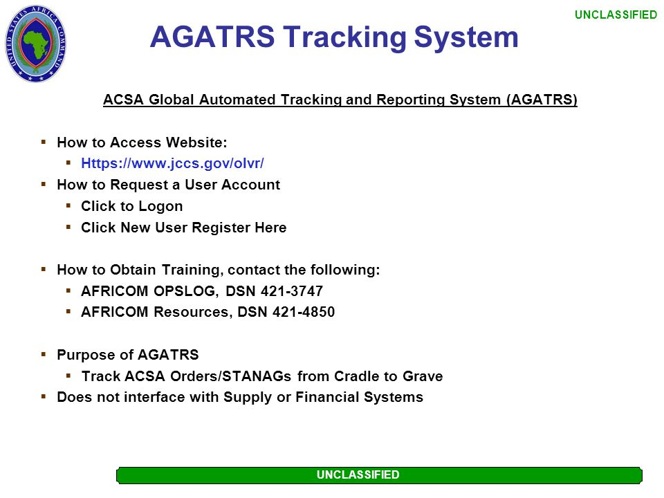 AGATRS Tracking System
