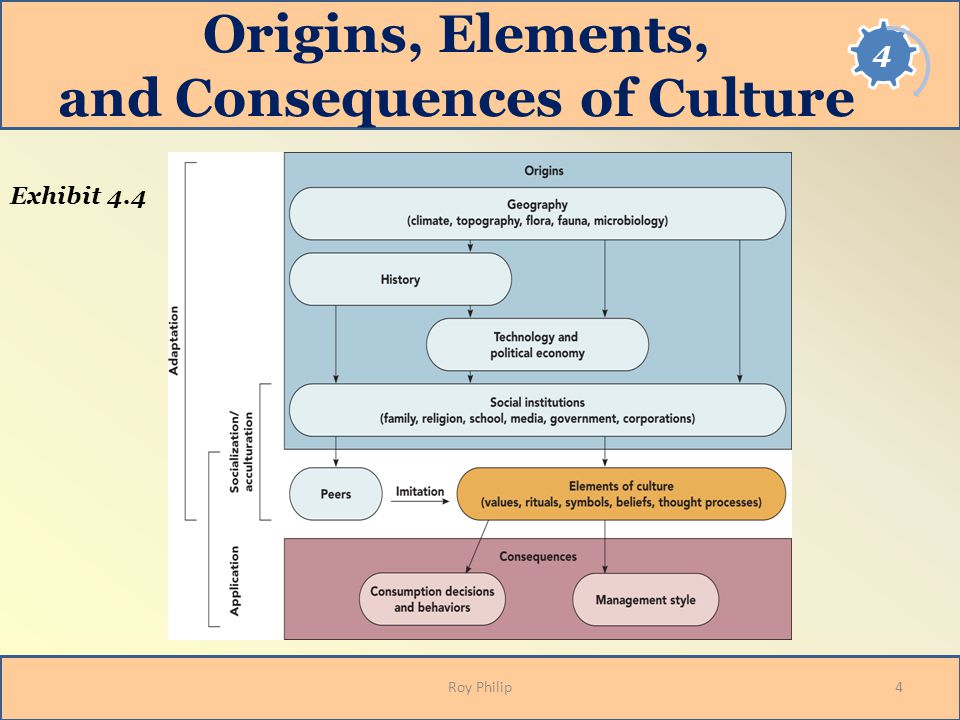 Origins, Elements, and Consequences of Culture