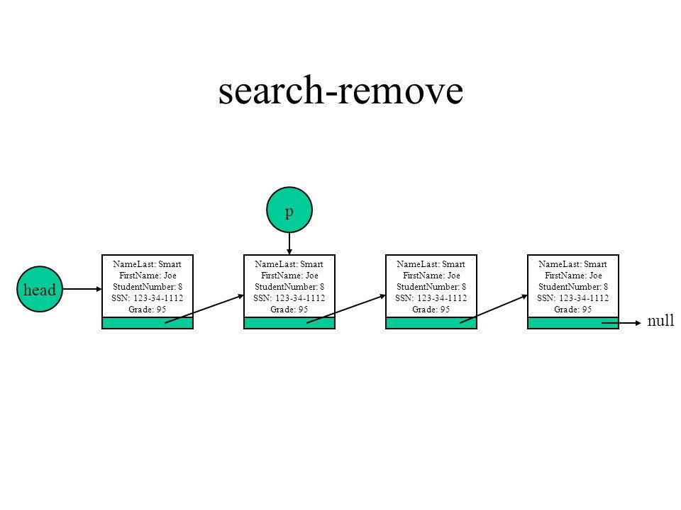 search-remove p head null NameLast: Smart FirstName: Joe