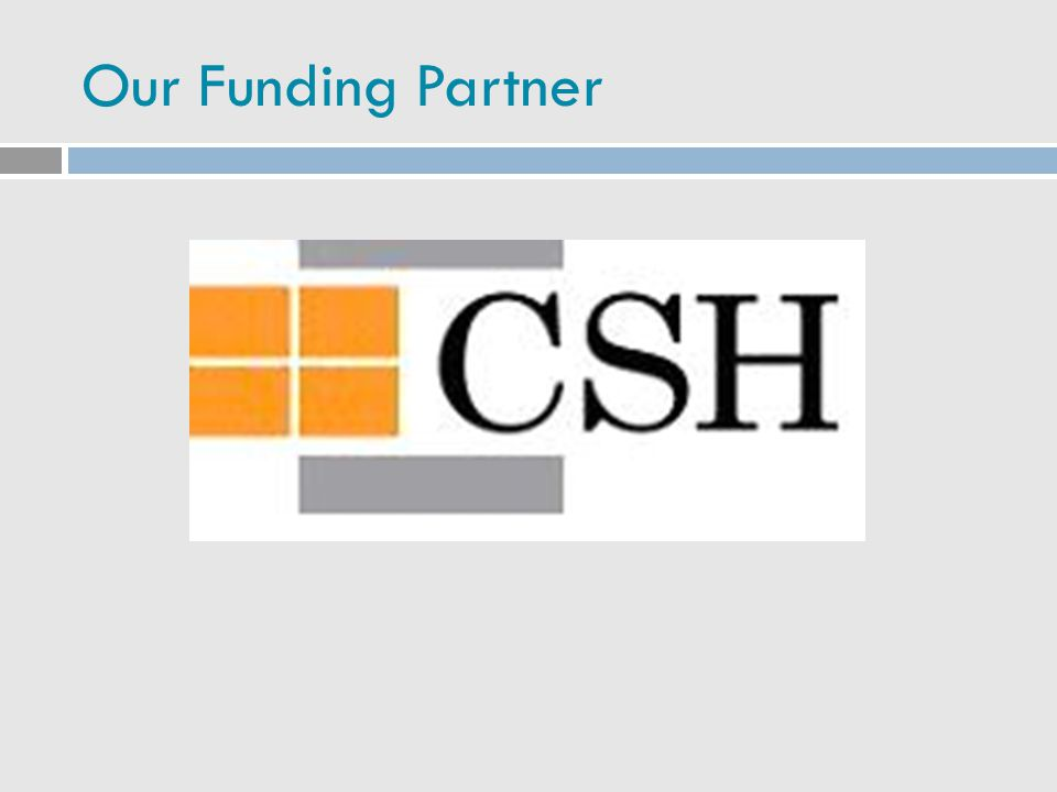 Our Funding Partner