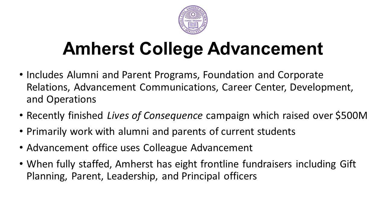 Amherst College Advancement