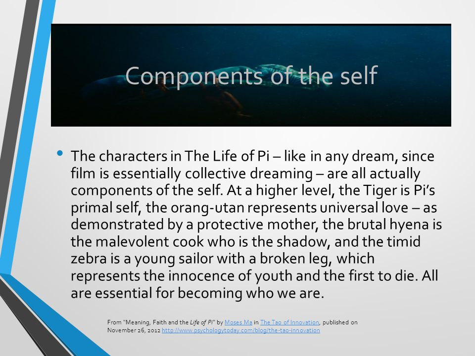 Components of the self