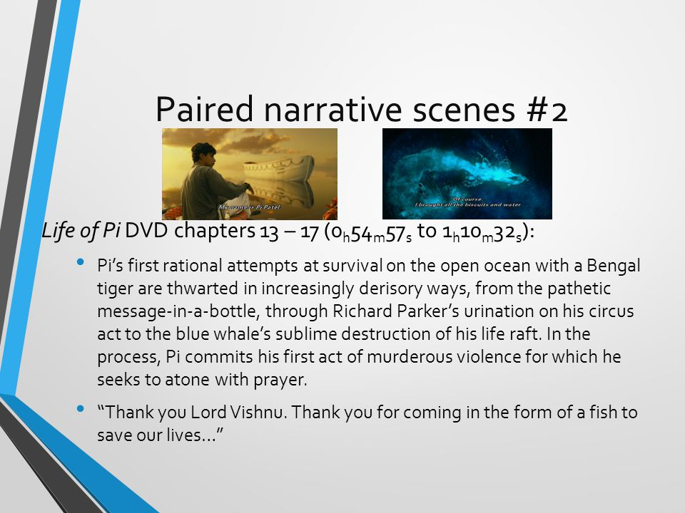 Paired narrative scenes #2