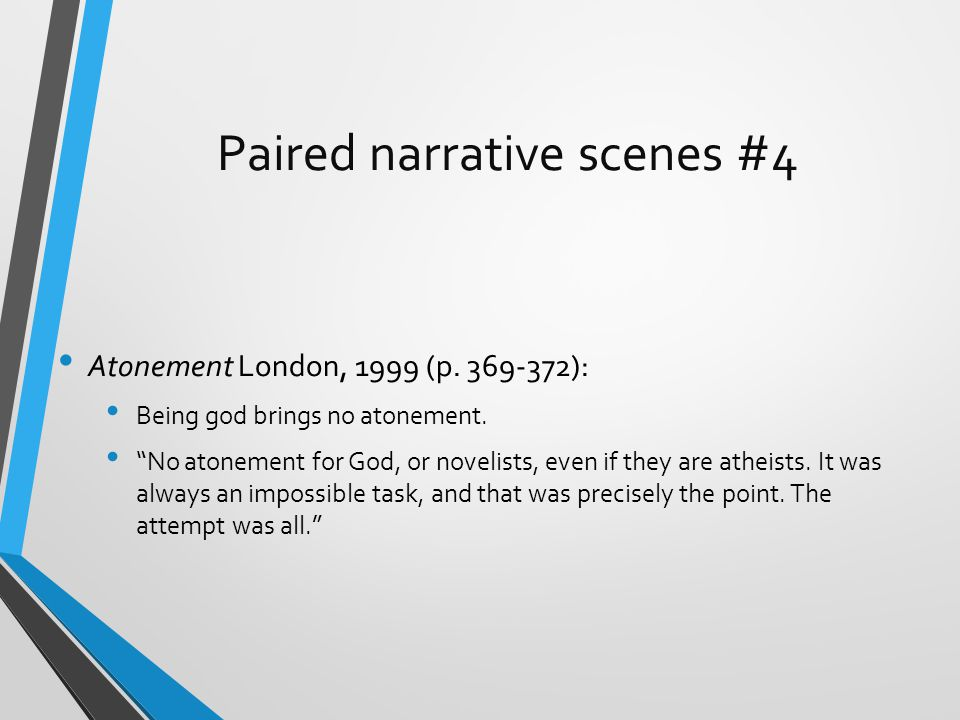 Paired narrative scenes #4