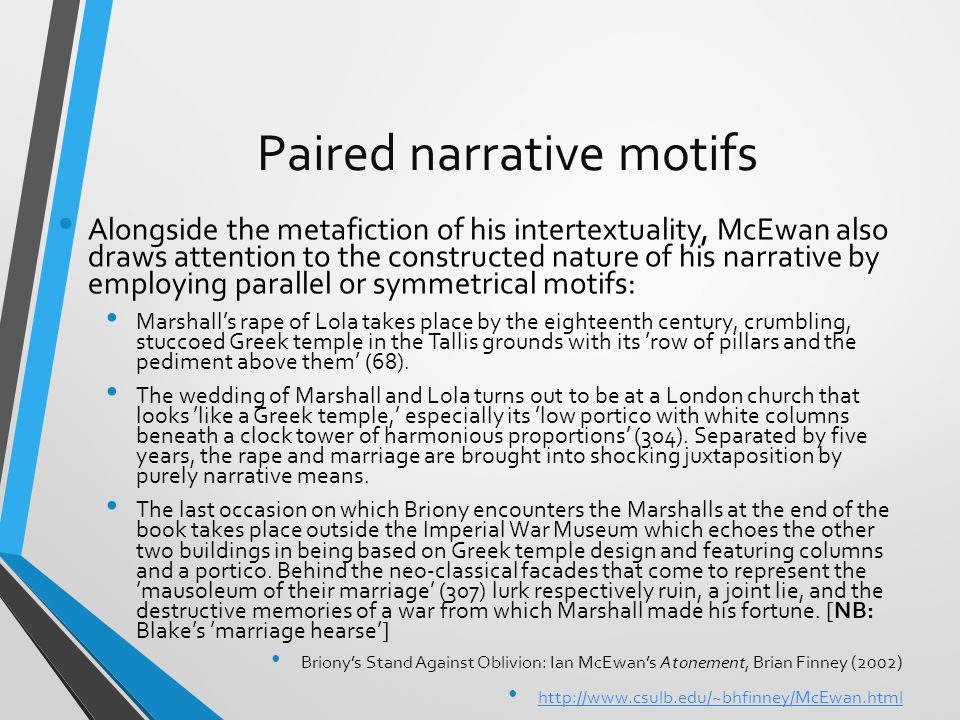 Paired narrative motifs