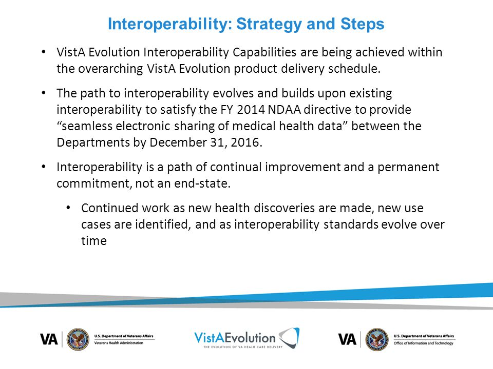 Interoperability: Strategy and Steps